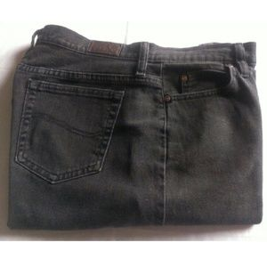 Lee Denim - Relaxed Straight Leg Jeans Size 12