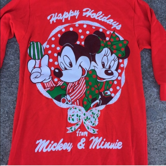 8c09594c8 Disney Intimates & Sleepwear | Mickey Minnie Mouse Christmas Holiday ...