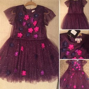 Halabaloo Other - NWT HALABALOO Party dress sz 4 shimmer  tulle NEW!
