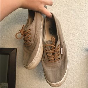 061ef14971 Free People Shoes - Women s Vans Authentic Brushed Twill Sneakers