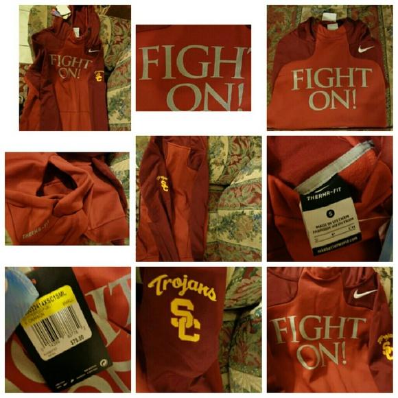 ce239aa2 Nike usc trojans fight on hoodie sz small adult. M_5850e888713fde3b530ab46b