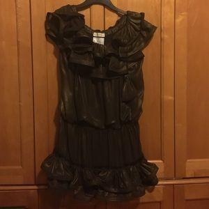 Lanvin HM bronze dress size 8