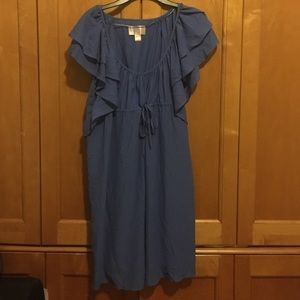 HM garden collection dress size 14 periwinkle