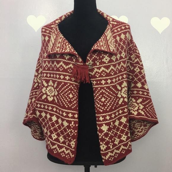 CAbi - Cabi Style 971 Fair Isle Shrug Wool Blend from ...