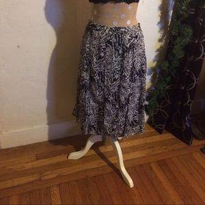 whowhatwear Dresses & Skirts - Ebony Willow leaf skirt