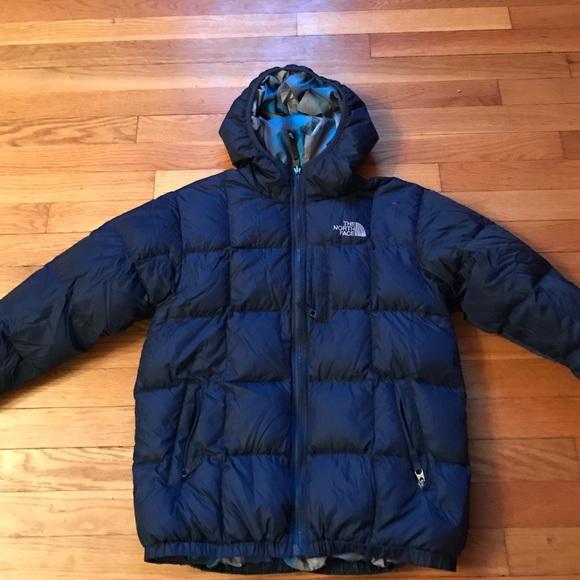 3c16f9f0e Boys 550 Fill North Face reversible down jacket