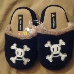 Paul Frank Other - Paul Frank Skull and Crossbones Slippers