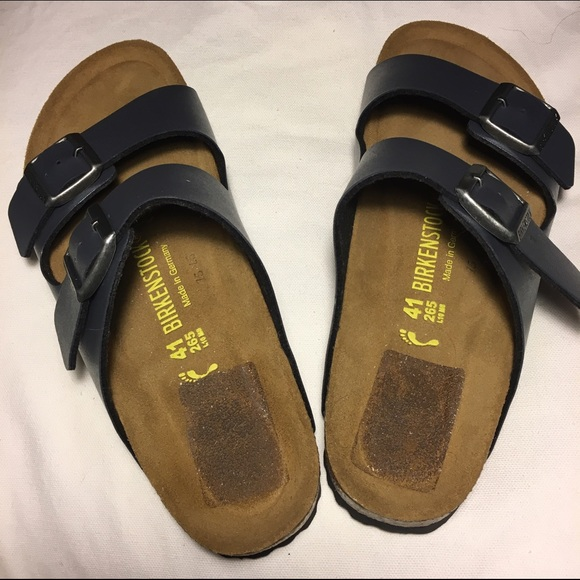 best service ab12a 01e23 BIRKENSTOCK Arizona 265 two buckle sandal NWOT
