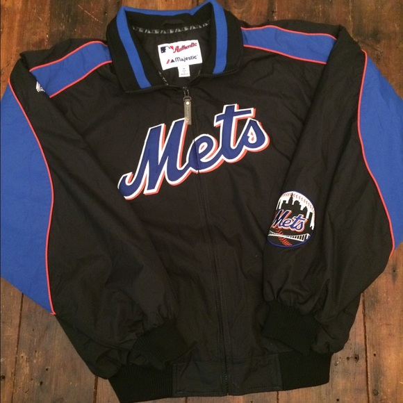 competitive price d572d 1577d New York Mets majestic jacket w fleece lining