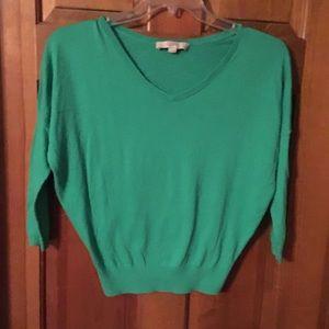 Green Loft sweater size SP