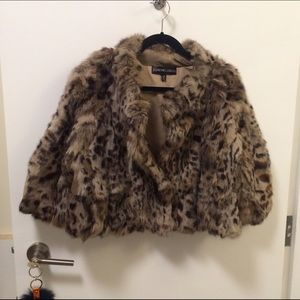 Adrienne Landau Jackets & Blazers - Cropped fur coat
