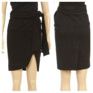 Ann Demeulemeester Dresses & Skirts - LOWEST Ann Demeulemeester Wool Wrap Skirt 40 US 8