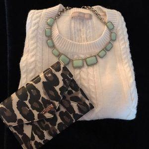 J. Crew Factory Jewelry - ✨‼️SALE ‼️✨J. Crew sea foam 🌊statement necklace
