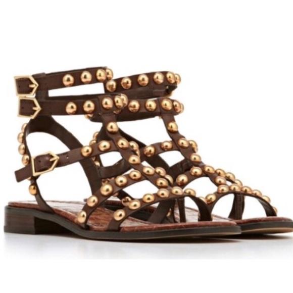 3046ed59504c Sam Edelman Eavan Studded Gladiator Sandals. M 58516aa1eaf030e4df0bf4c9