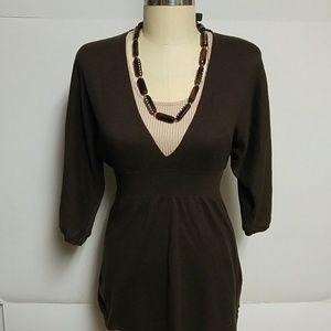 Express Brown Kimono Style Sweater!