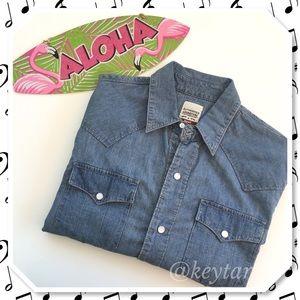Levi's Other - Levi's Denim Button Up Long Sleeve Shirt