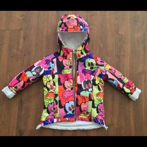K-Way Other - K-Way Minnie Mouse Reversible Puffer Coat - 3T