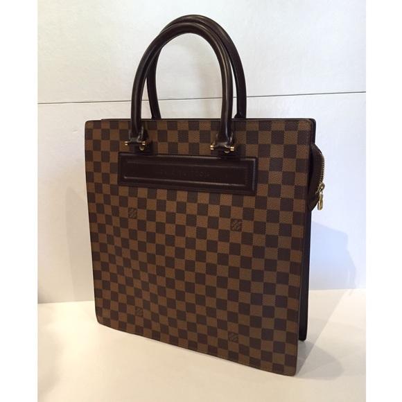 5a5f81edd819 ... Bag Excellent Condition Louis Vuitton Handbags - Louis Vuitton damier  ebene sac plat tote ...
