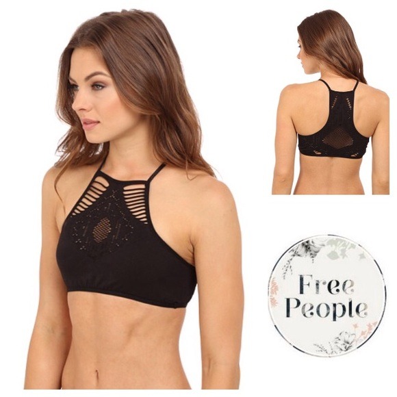 840fd50cf9 Free People Other - LIKE NEW! Free People Hanalei high neck bralette