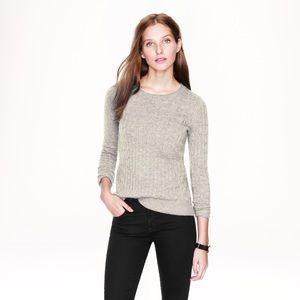 J. Crew Sweaters - J. Crew Merino Rabbit Hair Blend Cable Sweater SML