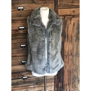 Zara Faux Fur Vest - NWOT