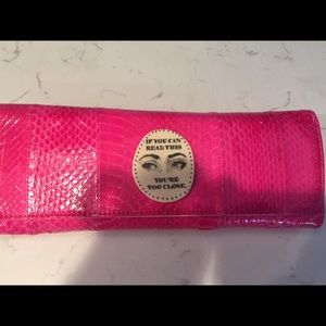 Jessica Kagan Cushman Pink Clutch