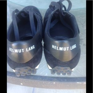 Helmut Lang Other - Helmut Lang Mens suede and leather sneakers