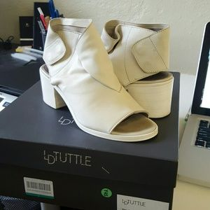 "LD Tuttle ""The Bow"" bleach booties size 36"