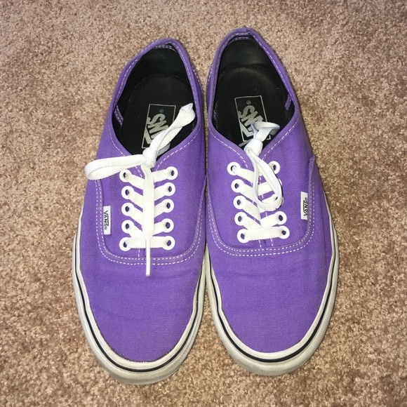 Vans Shoes | Purple Classic Vans | Poshmark