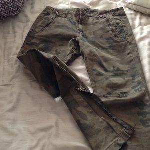3ccfe7d8f30ee Zara Pants - Zara army fatigue pants