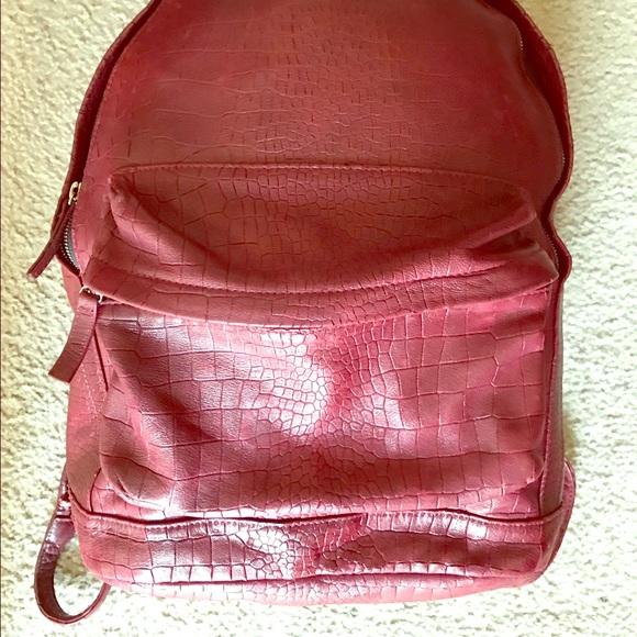 4baf1512366d3d Lauren and Luca Handbags - Lauren and Luca Croc Skin Backpack