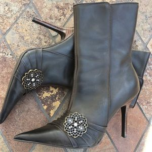 Steve Madden Shoes - 🎉HP🎉Steve Madden Leather Boots