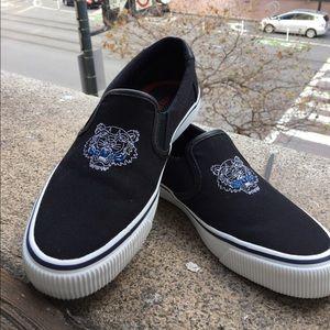 KENZO Slip On Sneakers 8-8.5