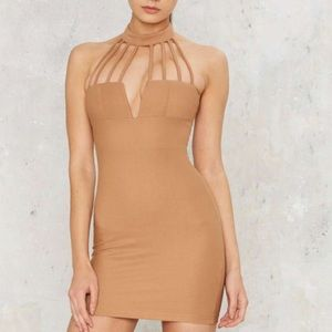 rare london Dresses & Skirts - Nastygal Rare London Let's Connect Halter Dress XS