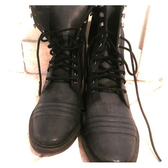 27% off Free People Shoes - Free people genuine leather combat ...