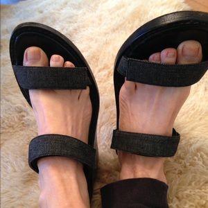 Ann Demeulemeester Shoes - Ann Demeuelemeester wedge sandal