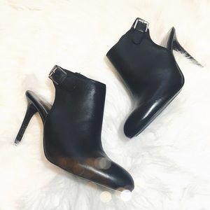 Lauren Ralph Lauren Shoes - Ralph Lauren Black Leather Ankle Booties