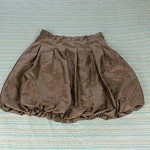 Metro 7 Dresses & Skirts - Metro 7 Bronze Brown Metallic Bubble Knee Length 8