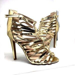 Sexy Gold Heel