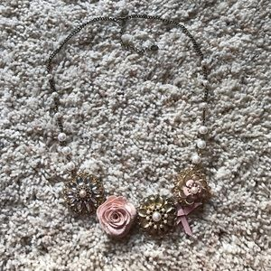 Icing Jewelry - Floral Pearl Necklace