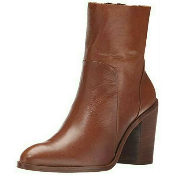 Aldo Greca Brown Leather Boots Worn Once