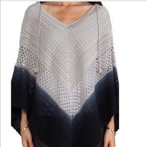 Lisa Maree Sweaters - LISA MAREE DAYS END CROTCHET HOODED PONCHO