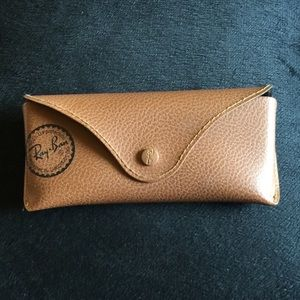 Ray-Ban Accessories - Ray Ban leather glass case. Small