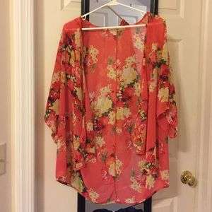 kate spade Tops - Tropical kimono