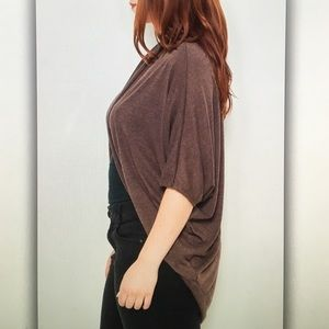 Tops - 🍁Brown 3/4🍁sleeve dolman cardigan