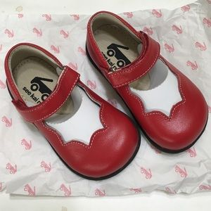 See Kai Run Other - See Kai Run Red Leather Mary Janes