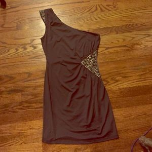 Forever 21 gray dress with beading