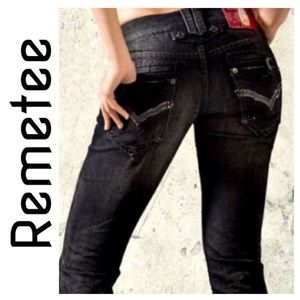 NWT Remetee Fairfax Slim Straight Jean size 26