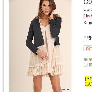 Jackets & Blazers - Full sleeved Kimono/duster. Boho/feminine. HP 🎉