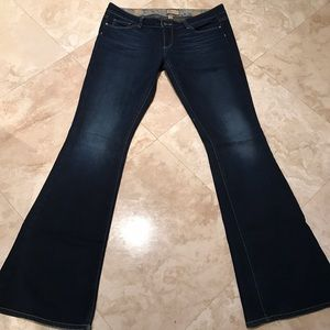 Paige jeans in a size 30.